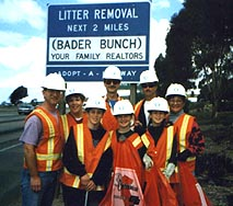 The Bader Bunch Adopt a Highway